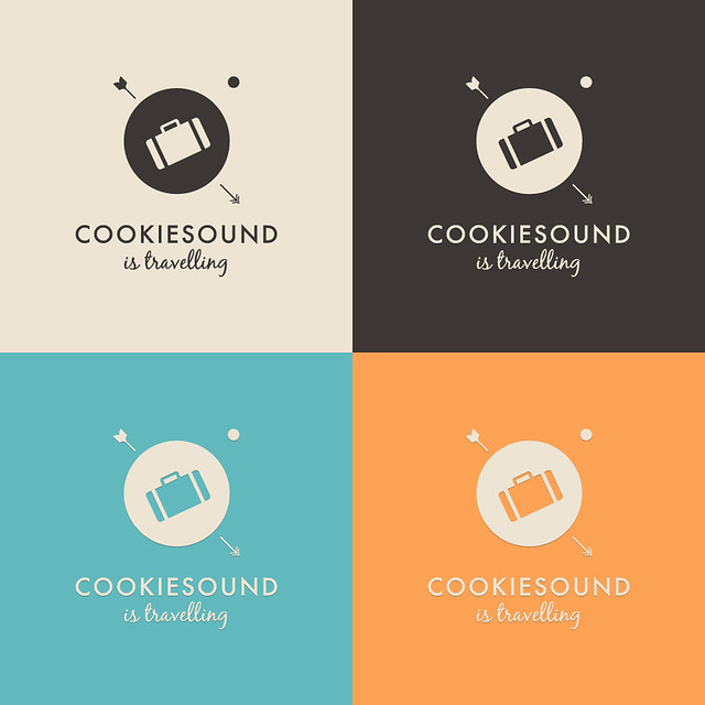 New Logo for Cookiesound is Travelling.
