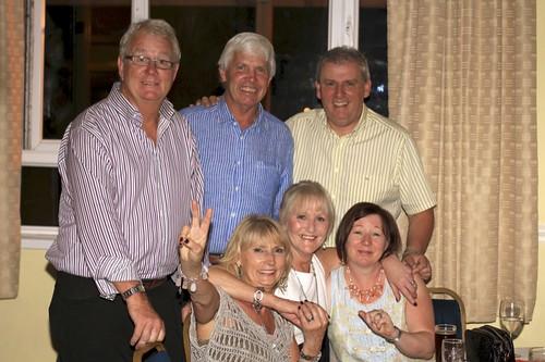 Colm, Sue, Mo & guests celebrate