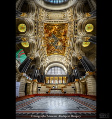 Ethnographic Museum - Budapest, Hungary (HDR Vertorama) (farbspiel) Tags: panorama photoshop geotagged nikon hungary budapest wideangle handheld stitching photomerge stitched dri hun hdr hdri topaz adjust superwideangle infocus ethnographicmuseum 10mm postprocessing ultrawideangle photomatix tonemapped tonemapping denoise detailenhancer vertorama d7000 sigma1020mmf35exdchsm geo:lat=4750798308 geo:lon=1904850125