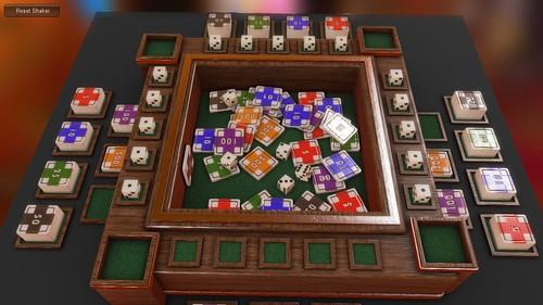 [Unity3D, RSRM] Dice Poker prototype