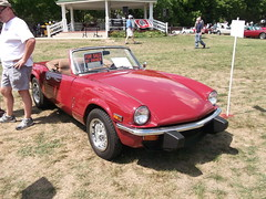 1979 Triumph Spitfire 1500 (cjp02) Tags: show classic car vintage indiana days british motor zionsville fujipix av200 cjp02 1979triumphspitfire1500indy