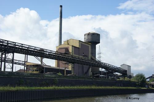 Carsid Marcinelle usine d agglomeration apres fermeture 27-08-2011