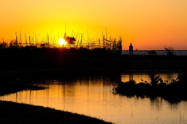 Belo-sur-Mer mangrove sunset, par Franck Vervial