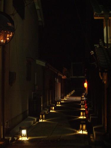 宇陀松山夢街道町並みライトアップ-13