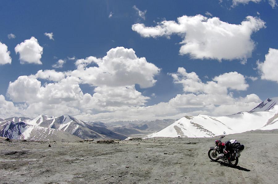 Мототрип по Гималаям - дорога Манали-Ле