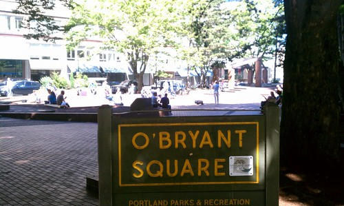 O'Bryant Square, Portland OR