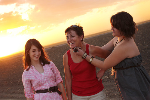 Callie, Mom and Taylor