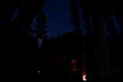 Backpacker's Campground at Night