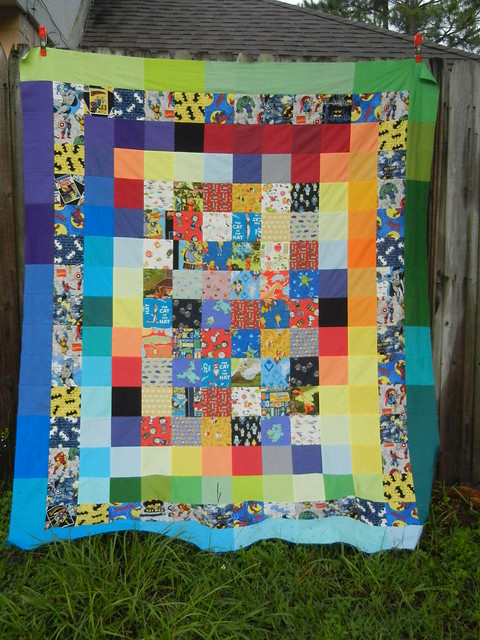 The Guy Quilt - finished top!