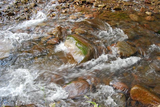 Creek upstate, NY