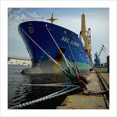 BBC CONGO-9247 (egoteabs) Tags: port dock ship harbour crane bretagne vessel bateau quai grue saintnazaire navire pentaxk10d smcpentaxda1645mmf4edal