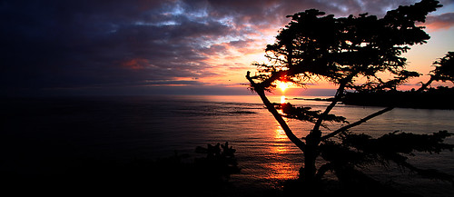 Cape Flattery Sunset- by gladner