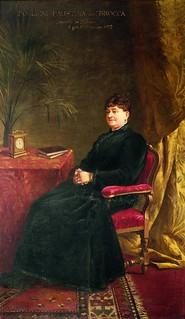 """Enrico Crespi, Ritratto di Faustina Foglieni Brocca, 1893, Milano, ASP """"Golgi-Redaelli"""""""