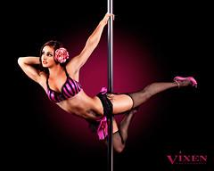 VIXEN Photography (VIXEN Photography) Tags: woman sexy pole