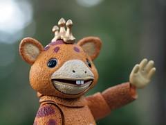 Booska says hi! (Gurooo) Tags: toy figure booska revoltech