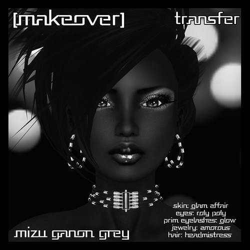Mizu Ganon grey Makeover from [mock] cosmetics by Mocksoup
