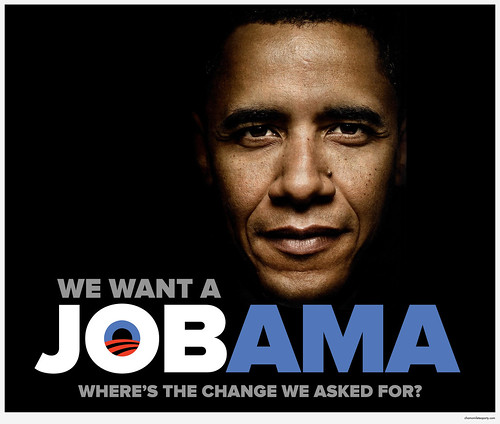 We Want a Job, Obama