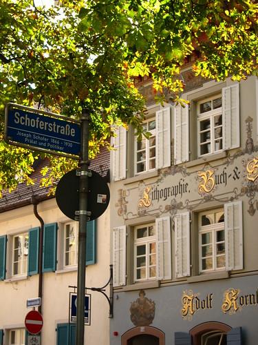 Freiburg Street by Danalynn C
