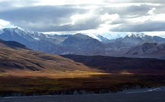 Landscape - Autumn in Denali - Mountains - Alaska (blmiers2) Tags: travel autumn mountain mountains fall nature beautiful sunshine alaska landscape nikon denali d3100 blm18 blmiers2