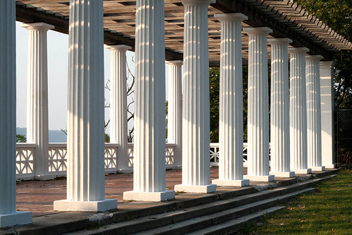 Hudson River Colonnade