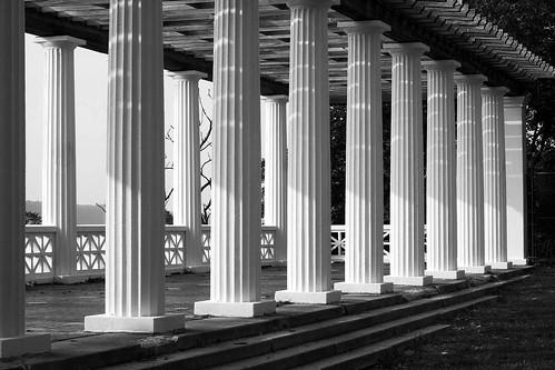 Colonnade B&W