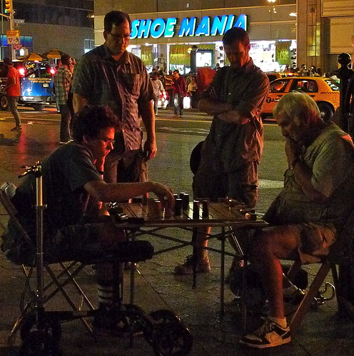 chess time in Union Square