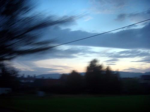 fast sunset
