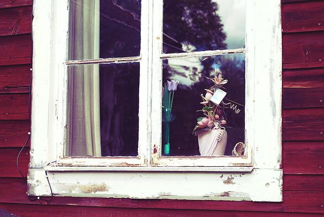 window in fagerdal