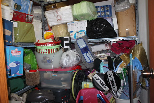 My disorganized store room- Tamanna