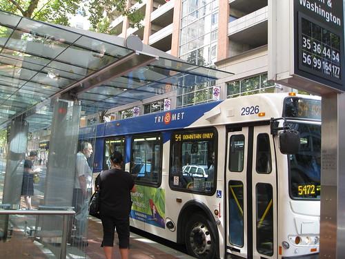 Portland bus stop