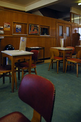 horlicks (steve marland) Tags: uk summer england seaside cafe chairs interior tables morecambe 2011 bruciannis