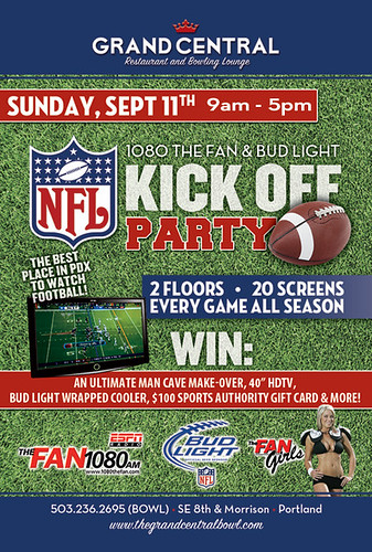 Watch NFL Football in Portland