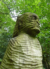 Sculpture at Hardcastle Crags by Tim Green aka atoach