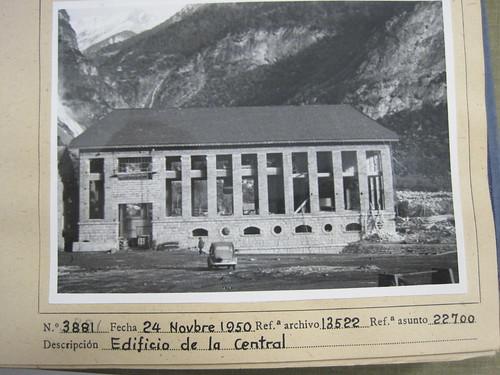 Central elèctrica d'ENHER a Senet (Alta Ribagorça)
