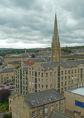 View from the Tower of Halifax Minster by Tim Green aka atoach