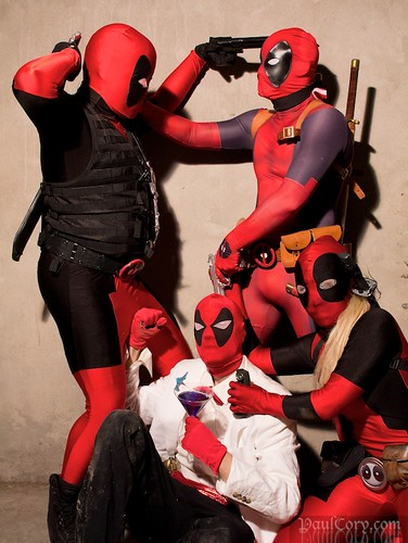 A Deadpool Family Album
