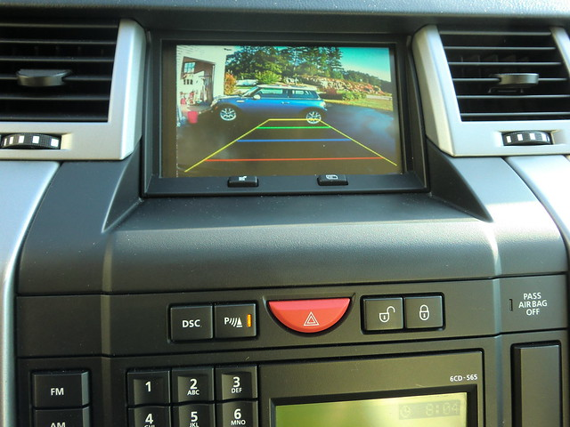 Who Owns Land Rover >> Installed Backup Camera in 2008 RRS S/C