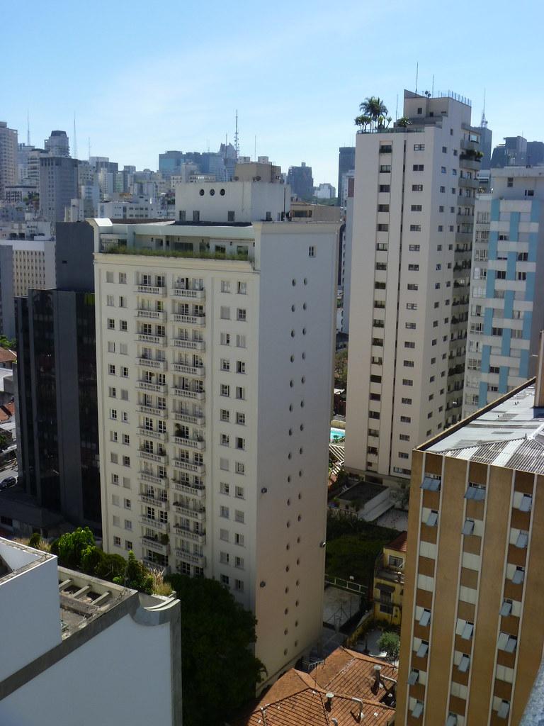 Sao Paulo Transamerica Flat 21st Centure View