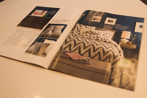 West Elm Catalog - Navy Wall
