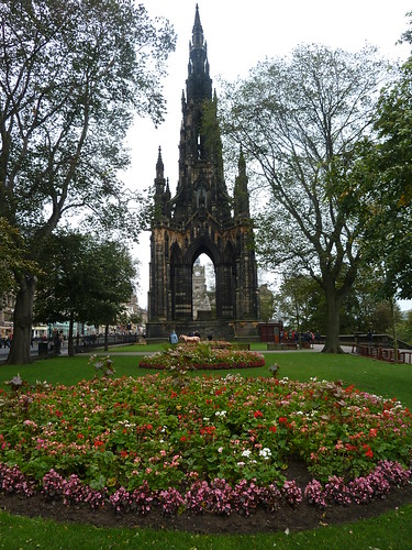 Scott Monument, Princes St