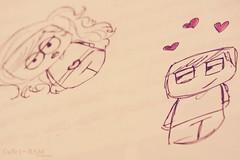 My Life withσut Yσu ♡ (RSM ♡) Tags: life boy love girl draw قلب قلبي حب رسم