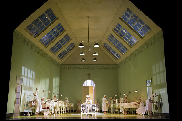 "A production image of Richard Jones' production of Suor Angelica. The Royal Opera season 2011/12. <a href=""http://www.roh.org.uk"" rel=""nofollow"">www.roh.org.uk</a> Photo by Bill Cooper"