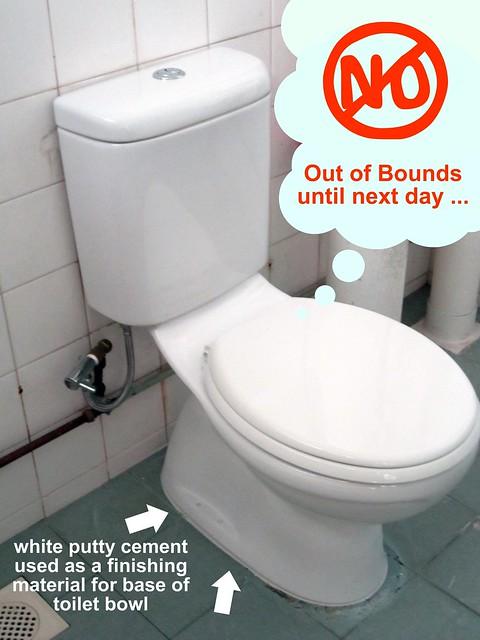 Toilet Leaking Water Onto Floor