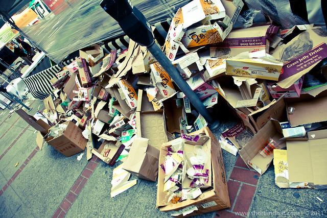 Chinatown trash
