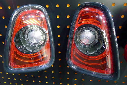 MINI Rear Lights Black Line @ IAA 2011