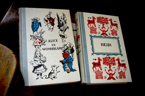 Covers: Alice in Wonderland and Heidi