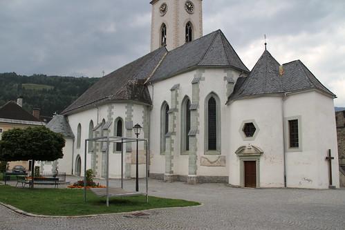 Gmünd in Kärnten am 27.8.2011