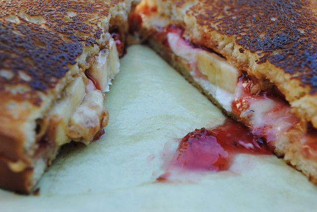 Grilled Sandwich from the PB & J Food Truck