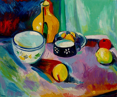 "Henri Matisse's ""Vase and Fruit"" (1901) • <a style=""font-size:0.8em;"" href=""https://www.flickr.com/photos/78624443@N00/6153470746/"" target=""_blank"">View on Flickr</a>"