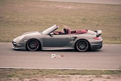Porsche 911 Turbo Convertible (PixelRev) Tags: charity germany deutschland 911 convertible turbo porsche 2011 rennstrecke worldcars spreewaldring pixelrev
